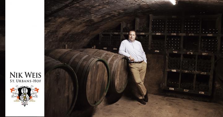 Sustainable Wine from Germany by Vinyard Nik Weis St. Urbans-Hof