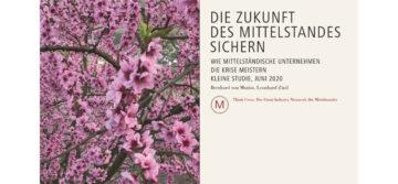 Die Zukunft des Mittelstandes sichern - Kleine Studie von Dr. von Mutius und Leonhard Zintl