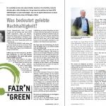 Artikel FAIR'N GREEN Nachhaltiger Weinbau